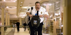 """Kevin James as """"Paul Blart"""" in Columbia Pictures' comedy Paul Blart: Mall Cop."""